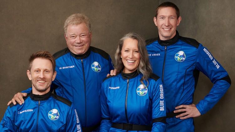 Live long and prosper: 'Star Trek' actor William Shatner safely lands following Blue Origin suborbital flight