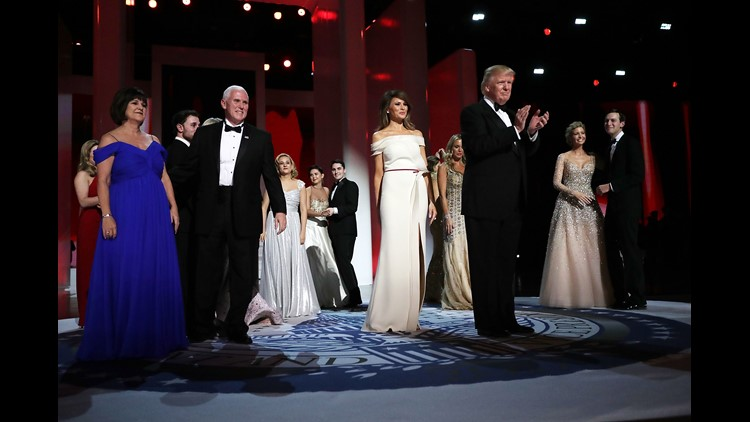 Melania Trump helps design her own inaugural gown