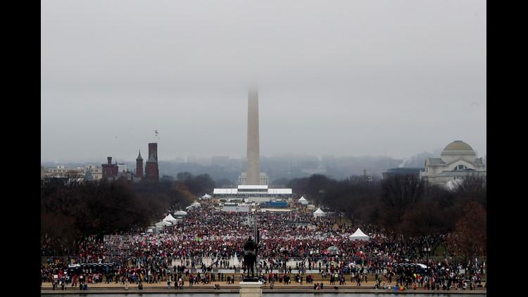 D.C. Women's March fills streets despite report of no march