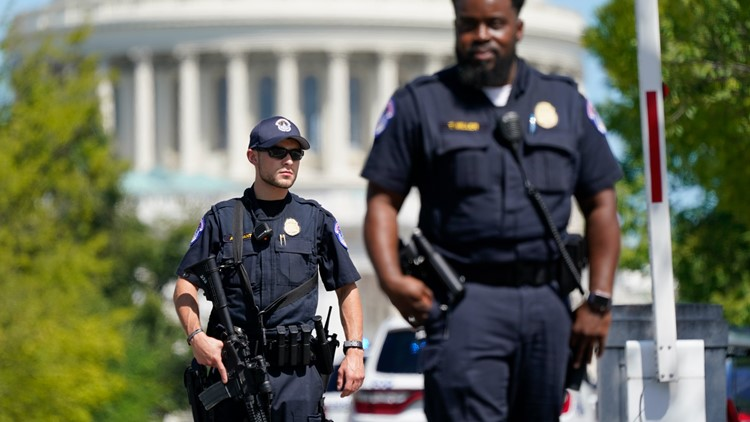 US Capitol Police release results of internal investigations into actions of 38 officers during the Jan. 6 riot