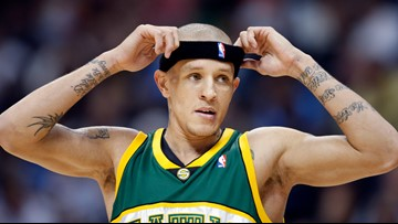 How did former NBA player Delonte West end up struggling in Maryland?