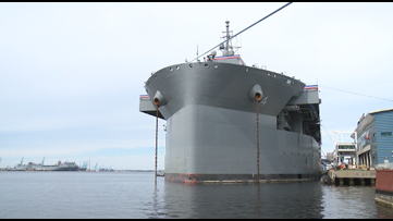 """Navy commissions USS Hershel """"Woody"""" Williams"""