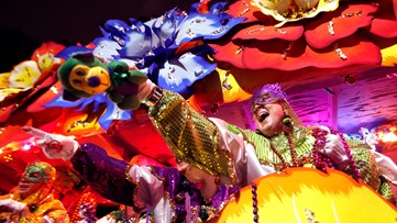 Dressed up, ready for fun: New Orleans celebrates Mardi Gras