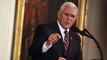 VP Mike Pence speaks to Georgia farmers, describes crop devastation as 'monumental'