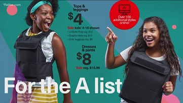 Photographer makes fake back-to-school ads featuring kids in bulletproof vests