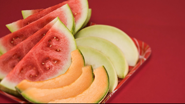 Pre-cut melon linked to salmonella outbreak in Kentucky, other states
