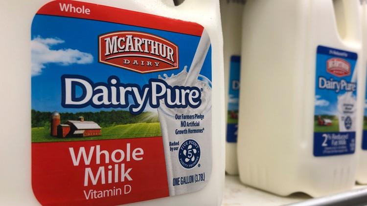 No. 1 milk company declares bankruptcy amid drop in demand