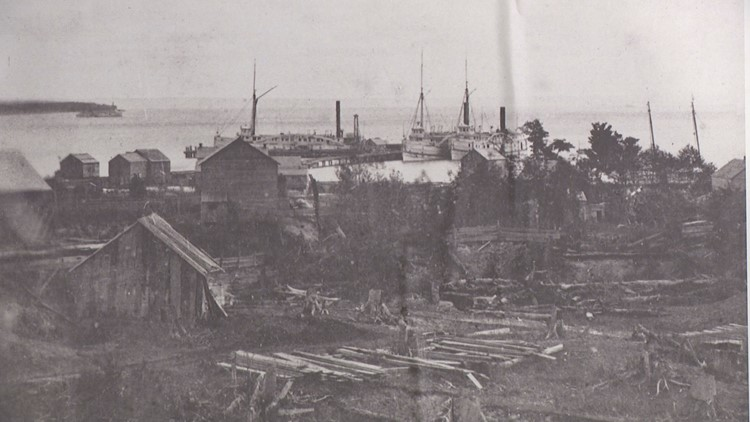 Northport, Mich. in the late 1800s.